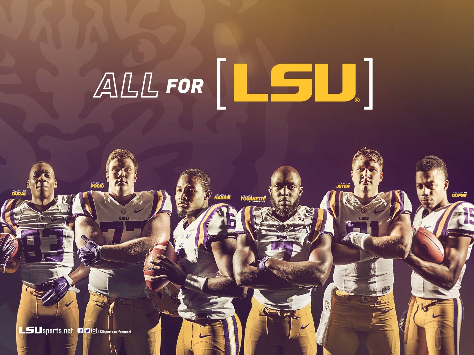 2016-17 Lsu Athletics Wallpapers, Social Covers - Lsusports