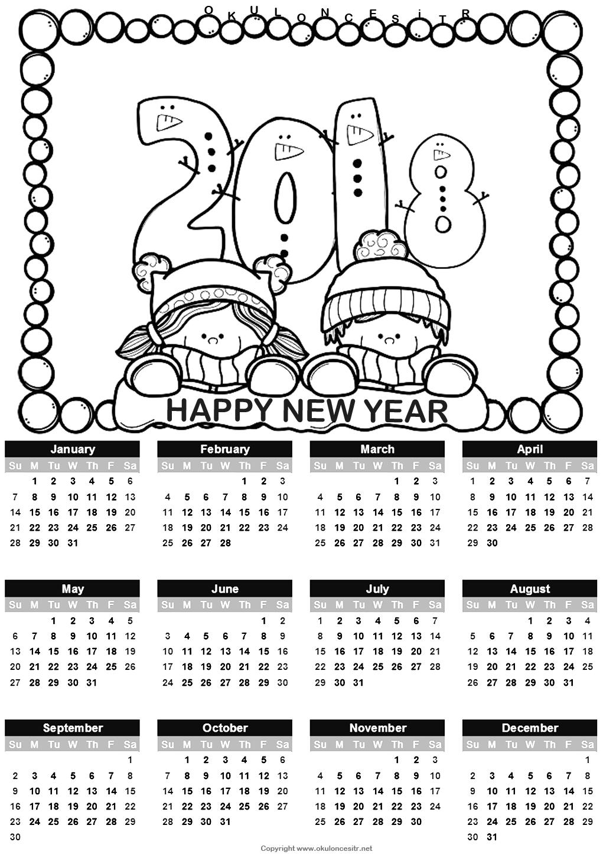 2018 Calendar Standart Printable   Daycare Ideas   Calendar