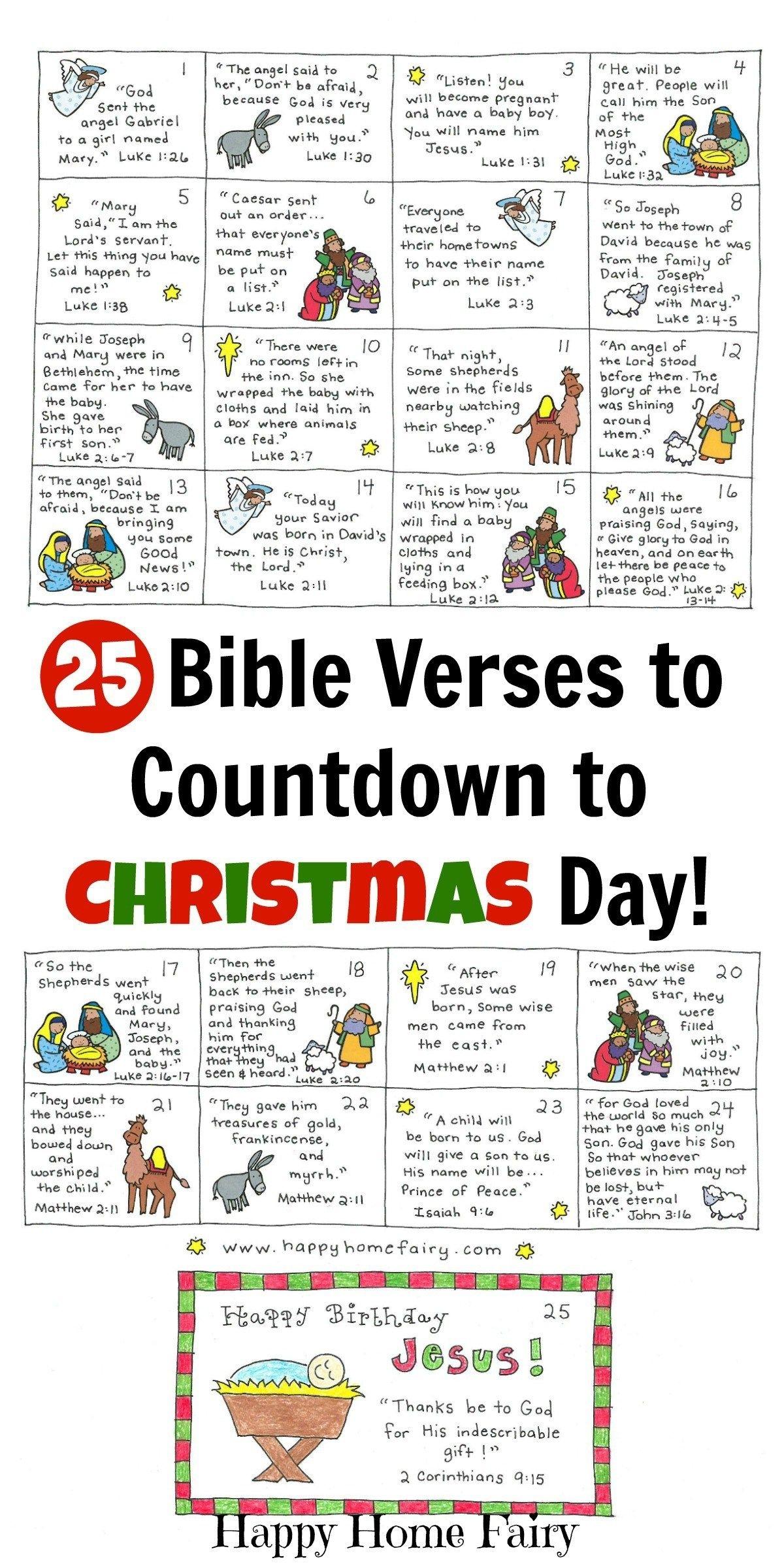 Free Printable Religious Advent Calendar   Ten Free ...