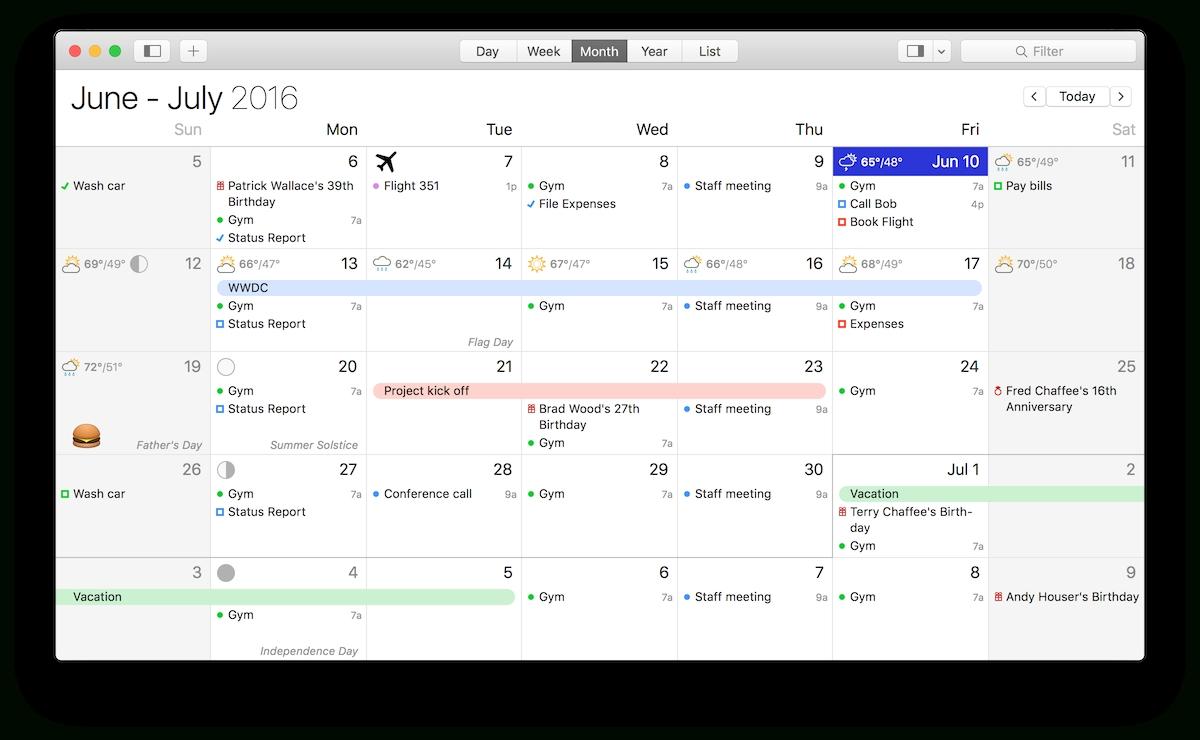 Calendar Mac Week Numbers   Ten Free Printable Calendar ...