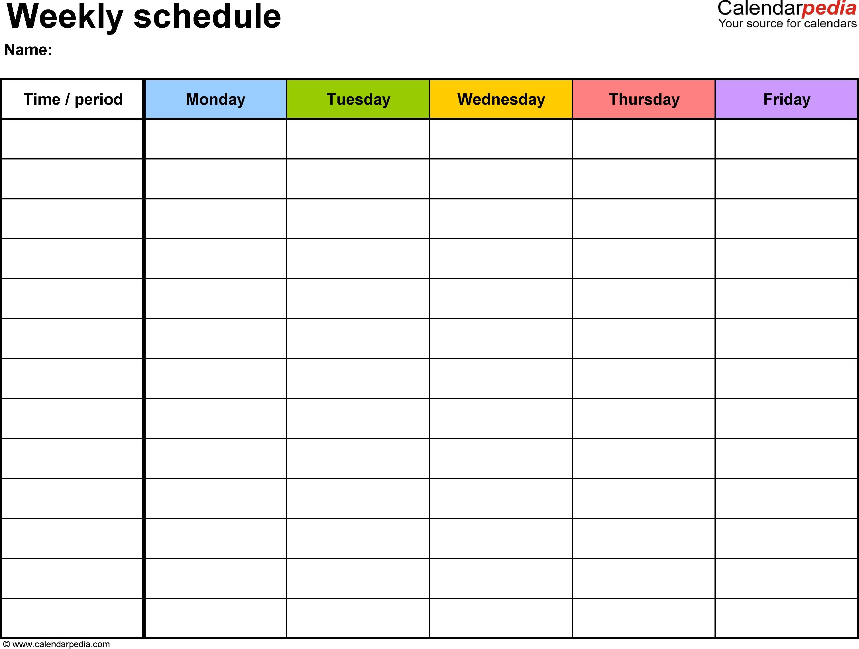 Calendar With Time Slots Template - Sasolo.annafora.co