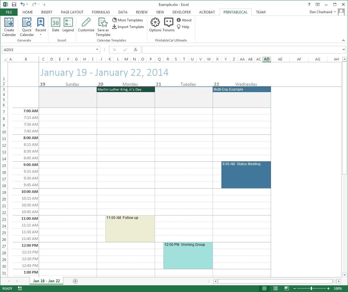 Print Color Calendar Outlook Ten Free Printable Calendar 2019 2020
