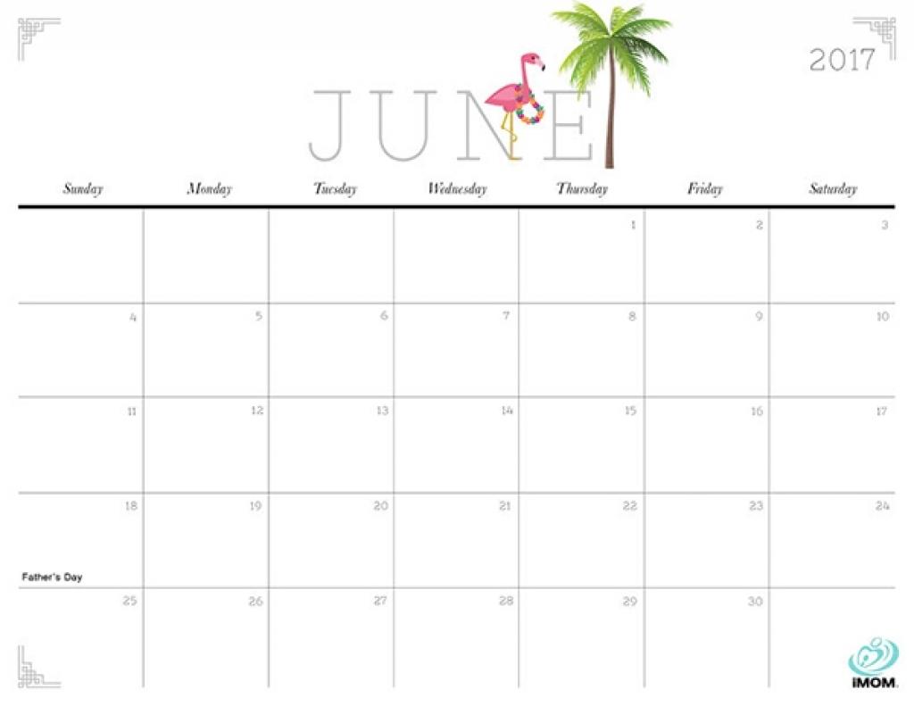 Cute And Crafty 2017 Printable Calendar Imom Sample   Printable