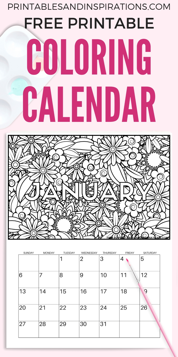 Free Calendar Coloring Pages For 2019   Best Of Organizing And