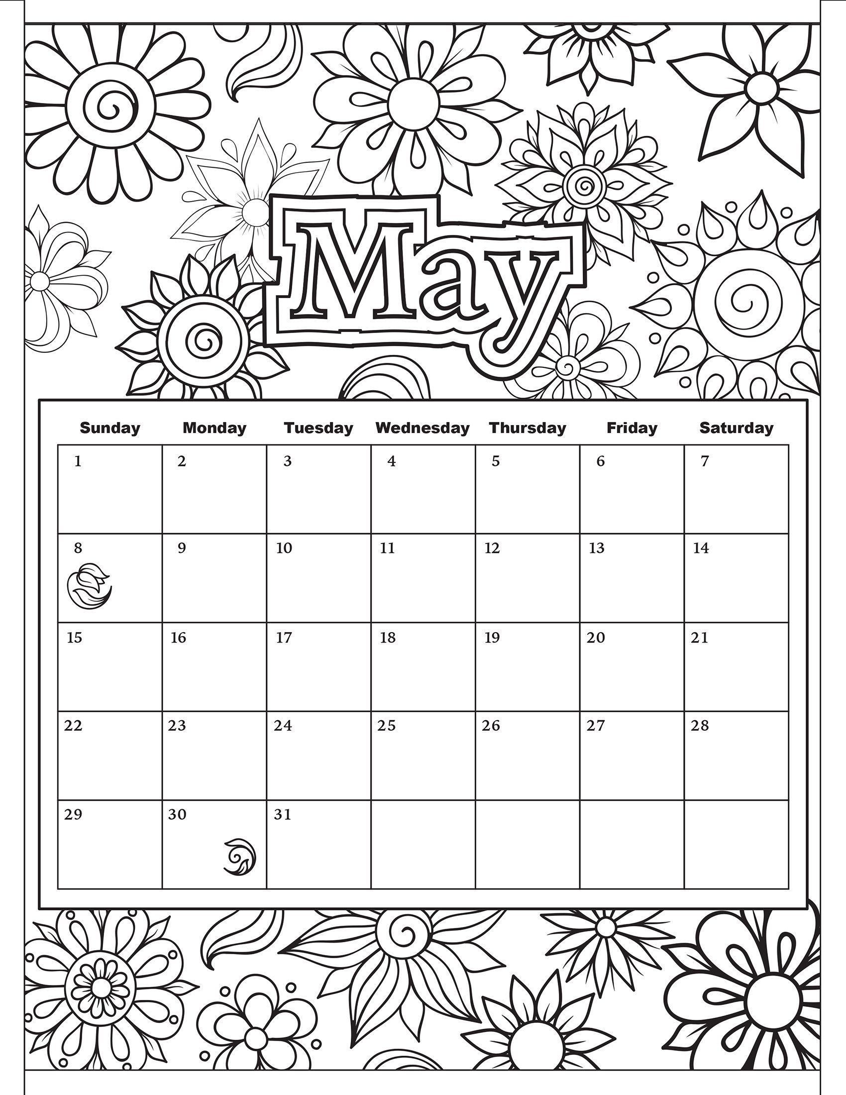 Free Download: Coloring Pages From Popular Adult Coloring Books