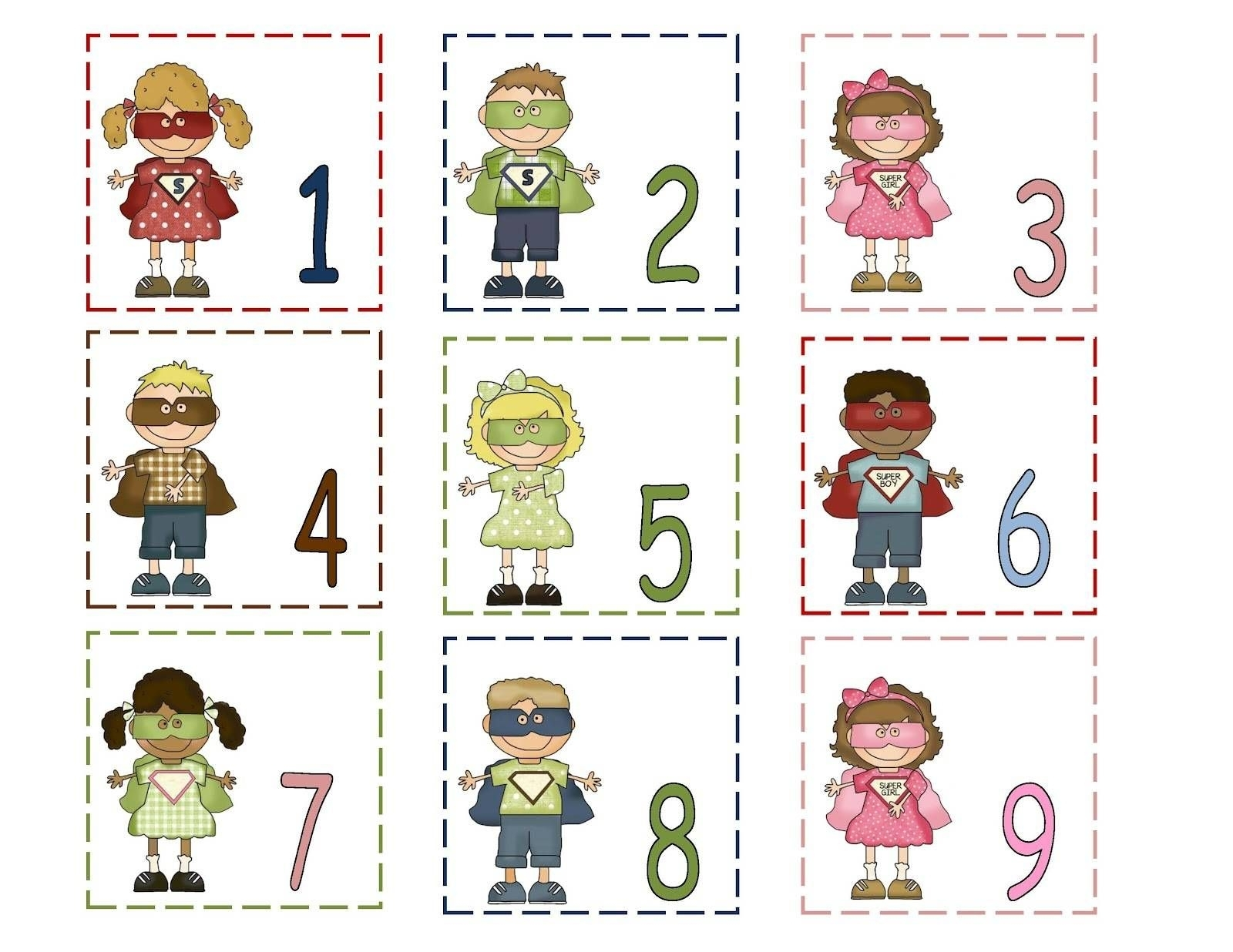 Free Printable Calendar Numbers 1-31 | 1 | Pinterest | Preschool