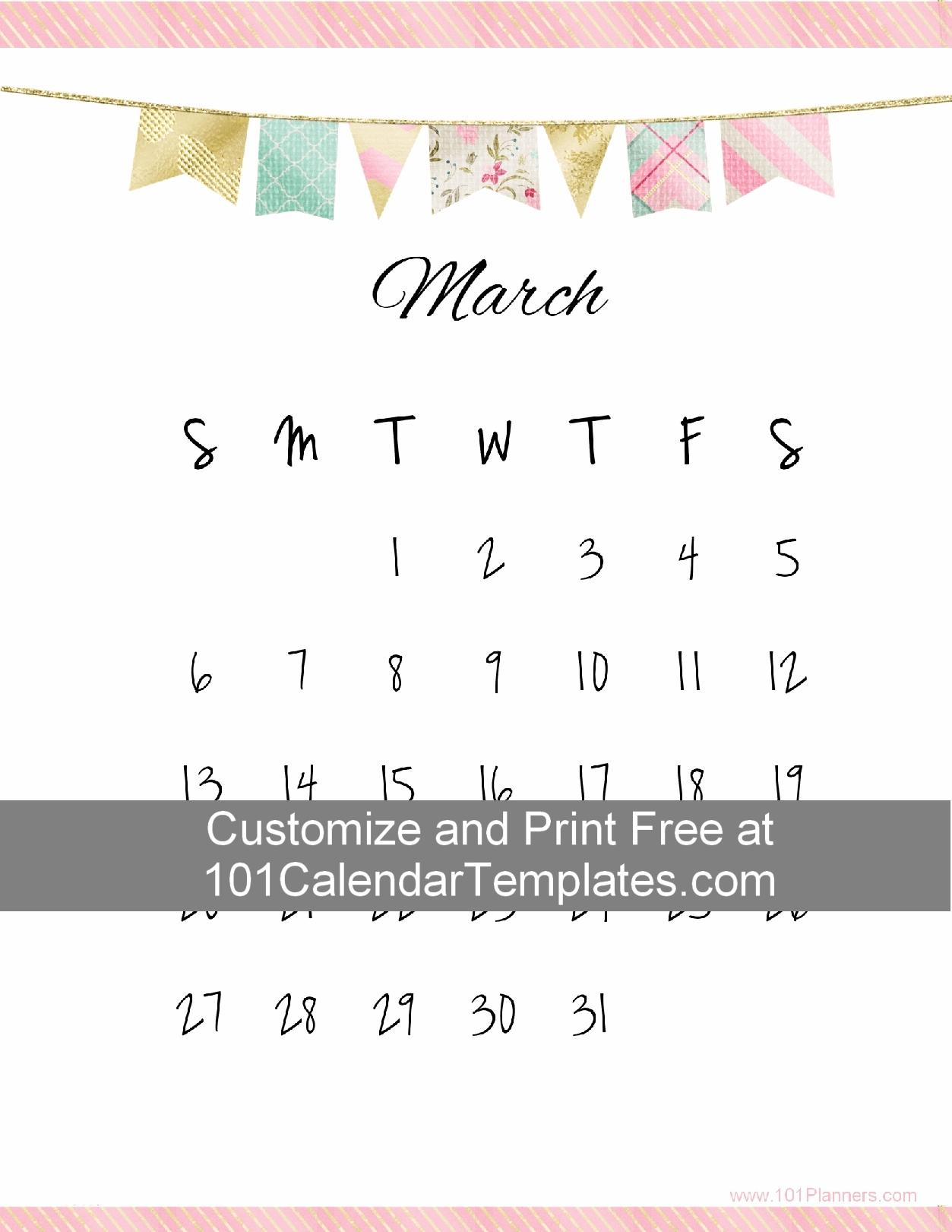 Free Printable Calendar Templates With A Pretty Banner. The Calendar