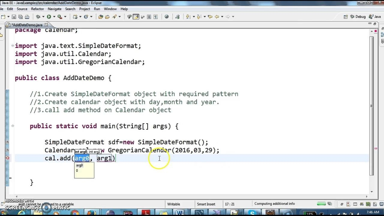 How To Add Number Of Days To Date In Java? - Youtube