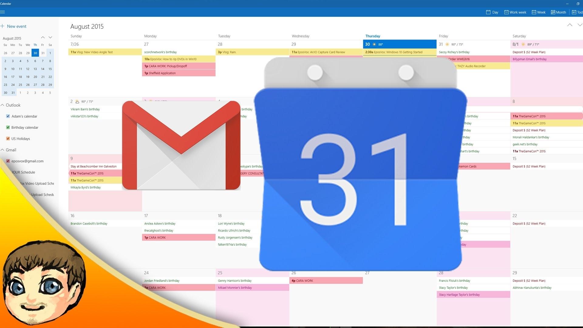 Windows 7 Calendar Week Number Gadget   Ten Free Printable ...