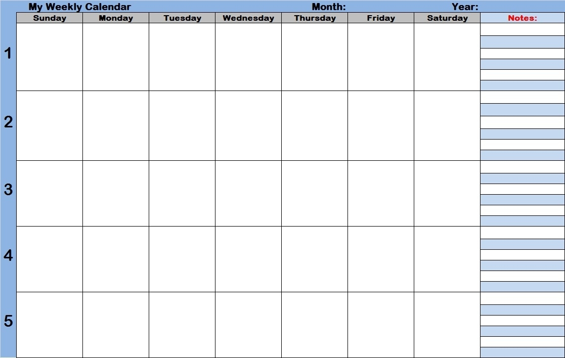 Monthly Calendar With Time Slots   Year Printable Calendar