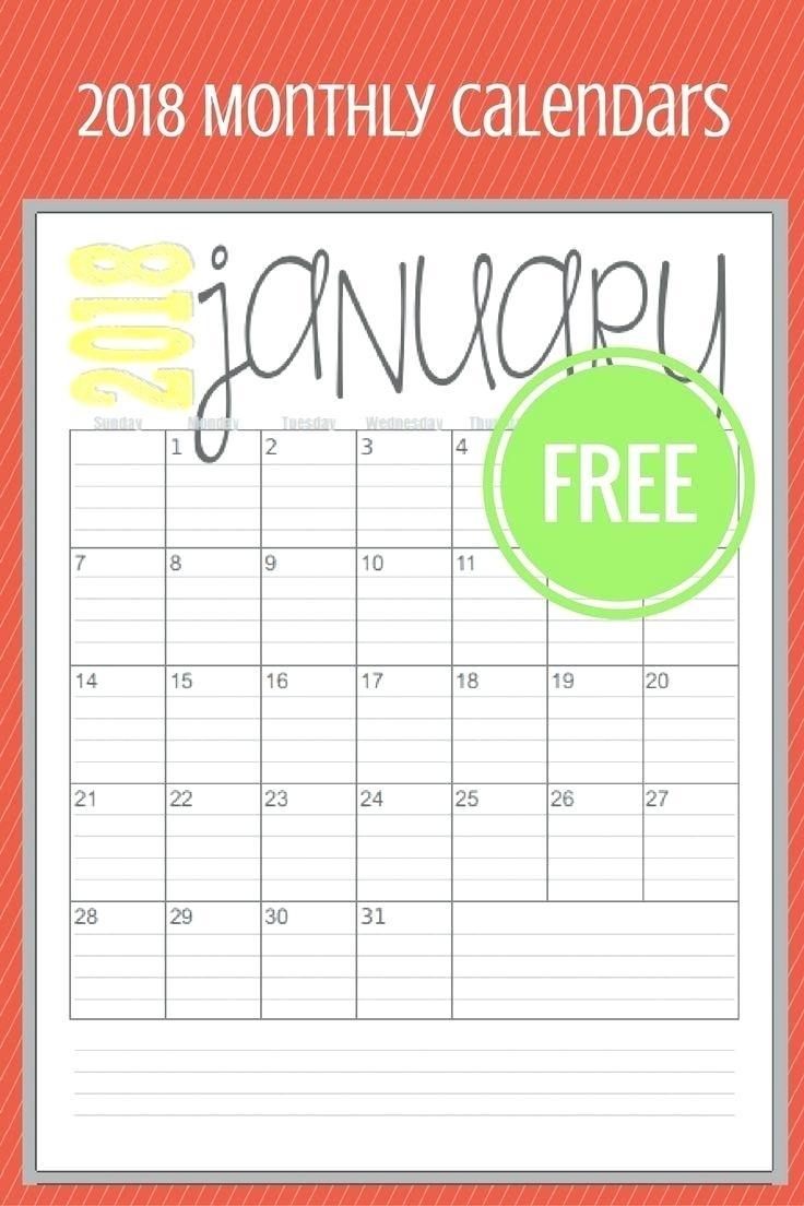 Printable Monthly Calendar Imom   Monthly Calendar 2019