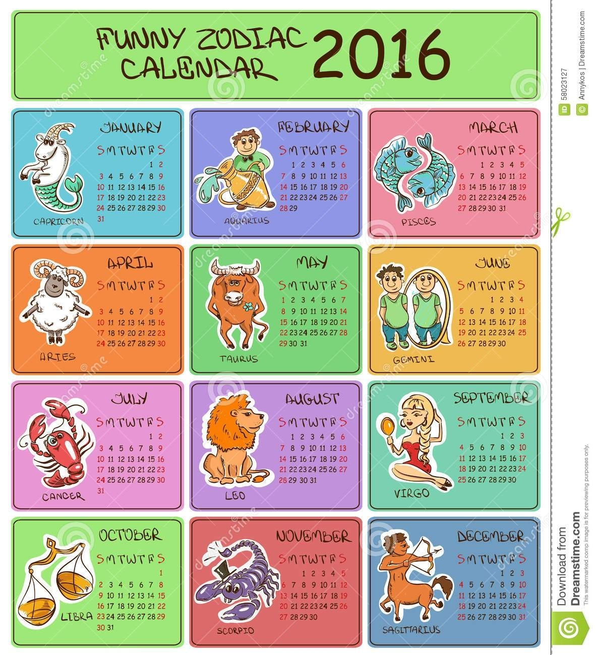 Zodiac Calendar Signs Dates   Has Your Zodiac Sign Really Changed