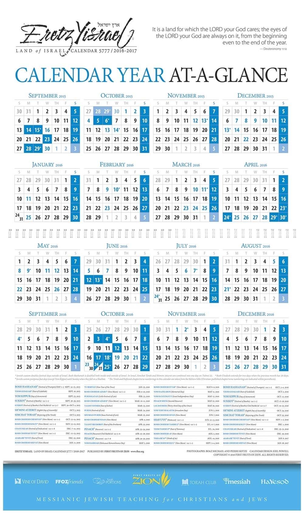 5777 07 Nissan D 16 Calendar 5777 - Calendar