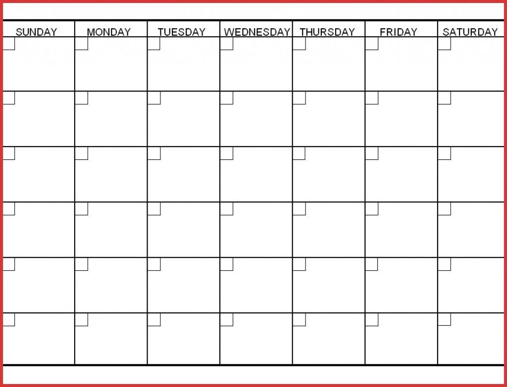 6 Week Printable Calendar Inspirational Online Of For Blank
