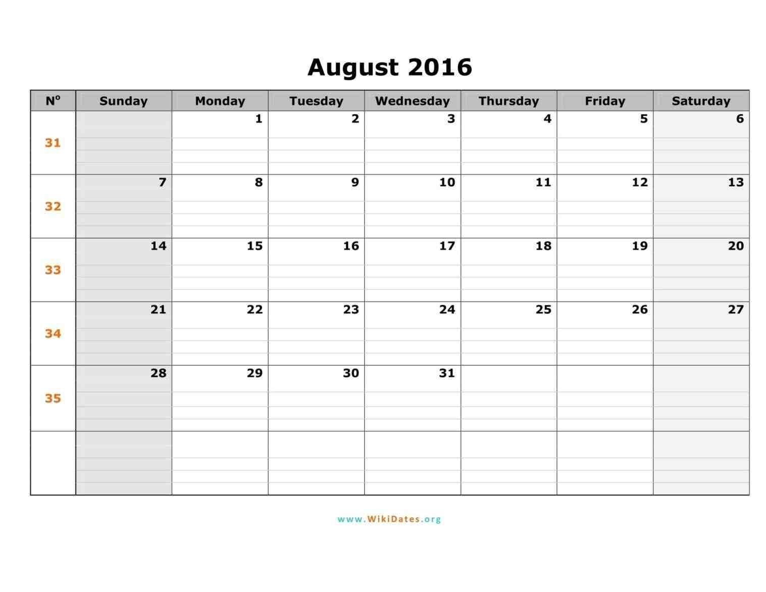 6 Weeks Calendar Template - Kairo.houseofstrauss.co