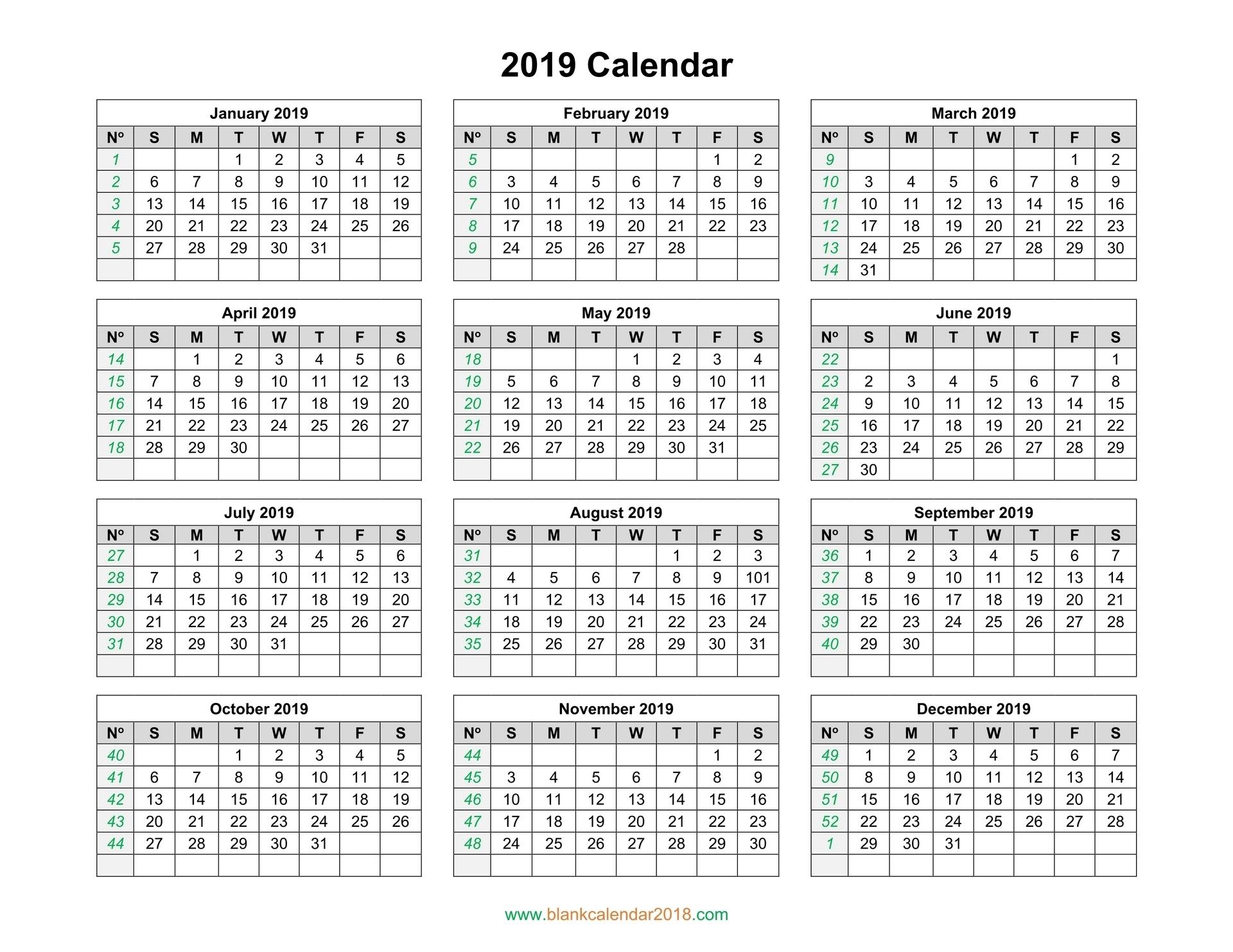 Full Year Calendar Html   Ten Free Printable Calendar 2020 ...