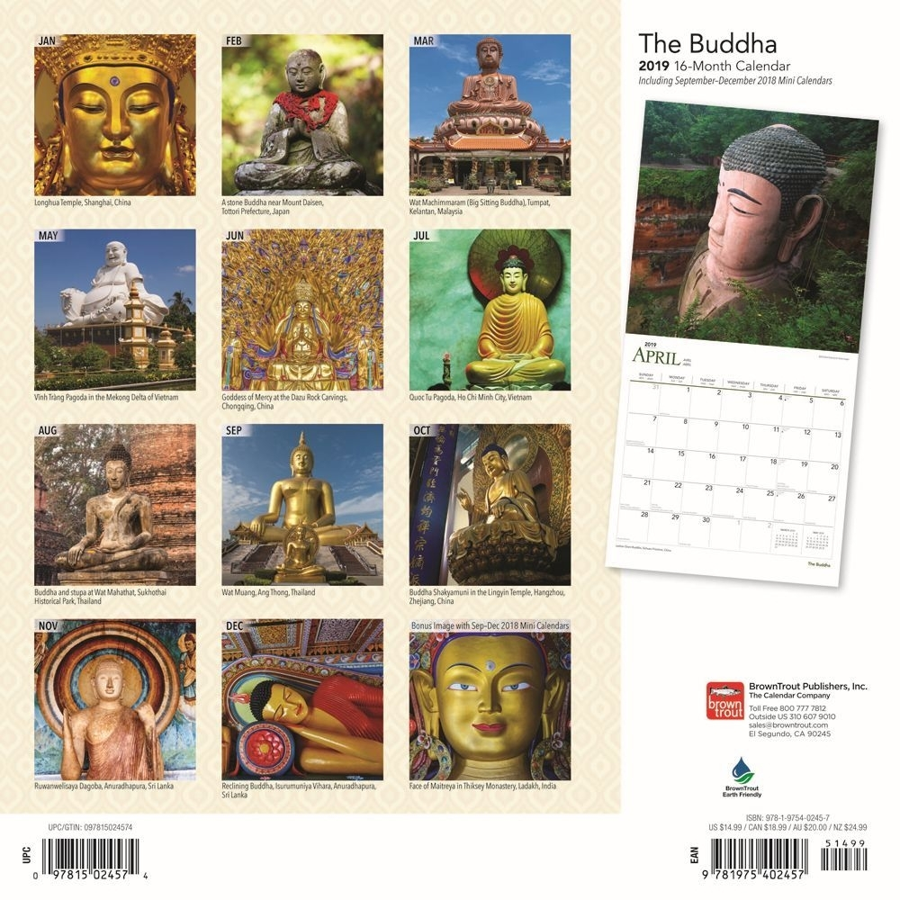 Buddha 2019 Wall Calendar | | Calendars
