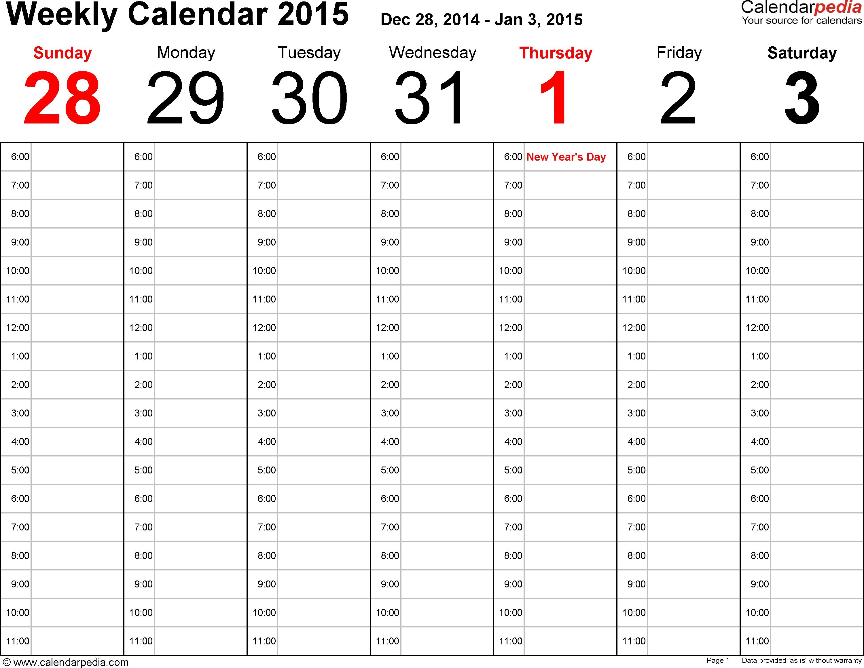 Calendar Weekdate | Make A Personal Calendar Online