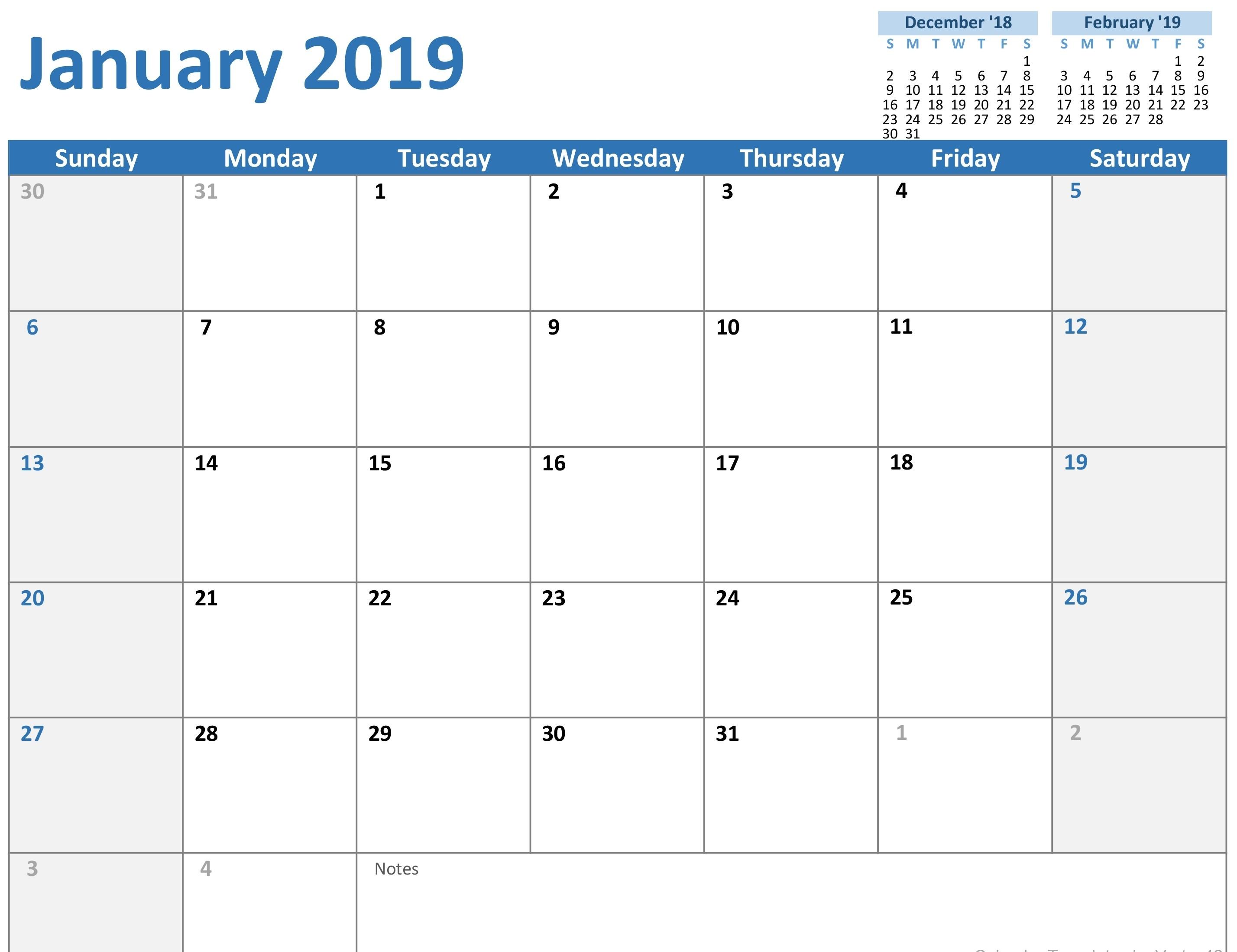 Calendars - Office