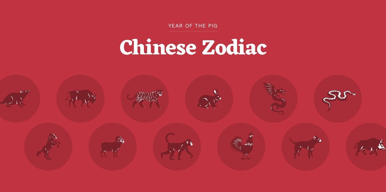 Chinese Zodiac – Chinese New Year 2019