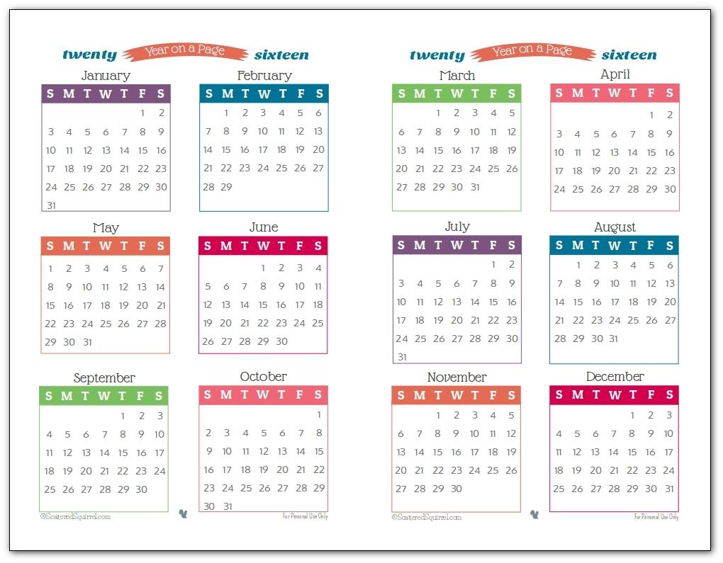Free Printable Calendar Half Page   Ten Free Printable ...