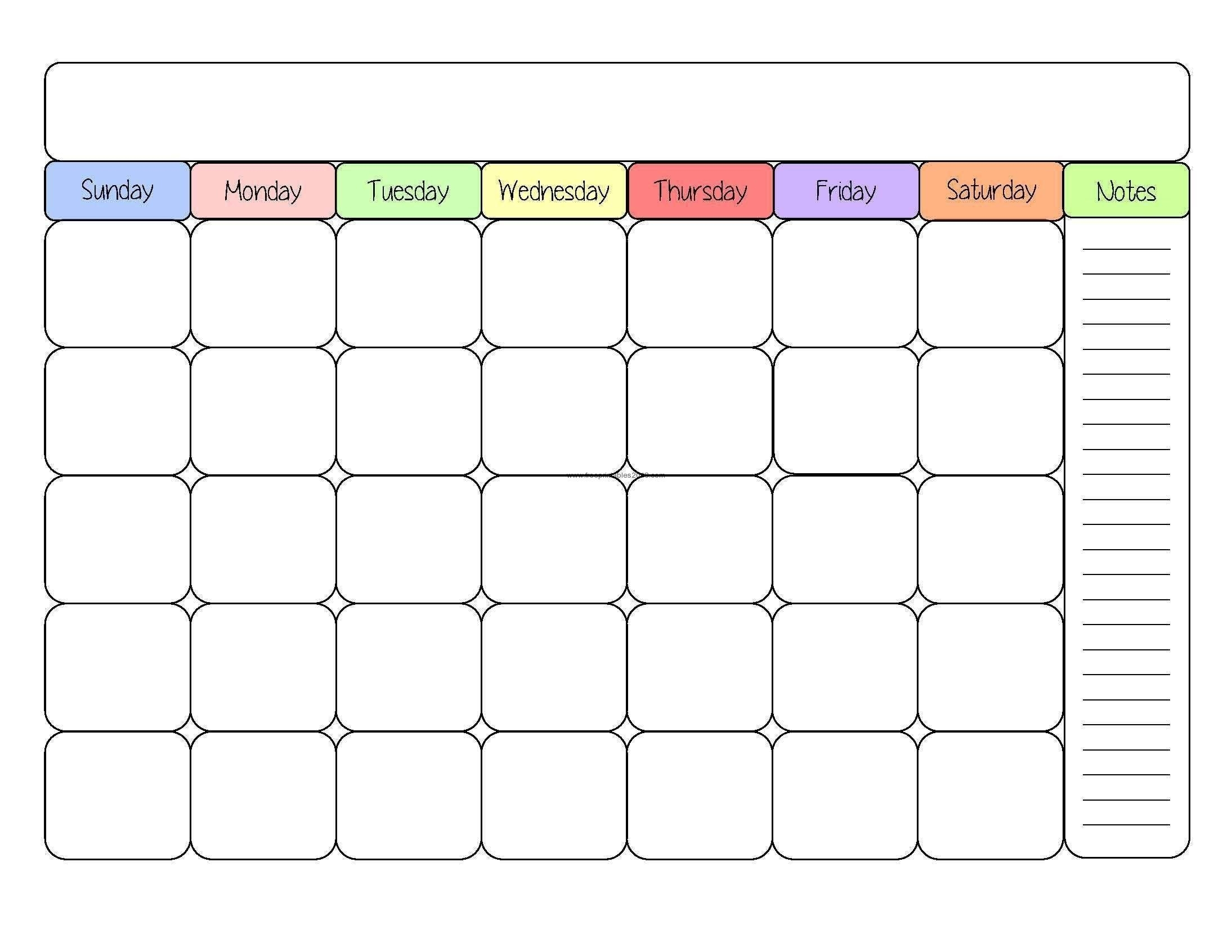 Free Printable Calendar No Download Printable Calendar No Download