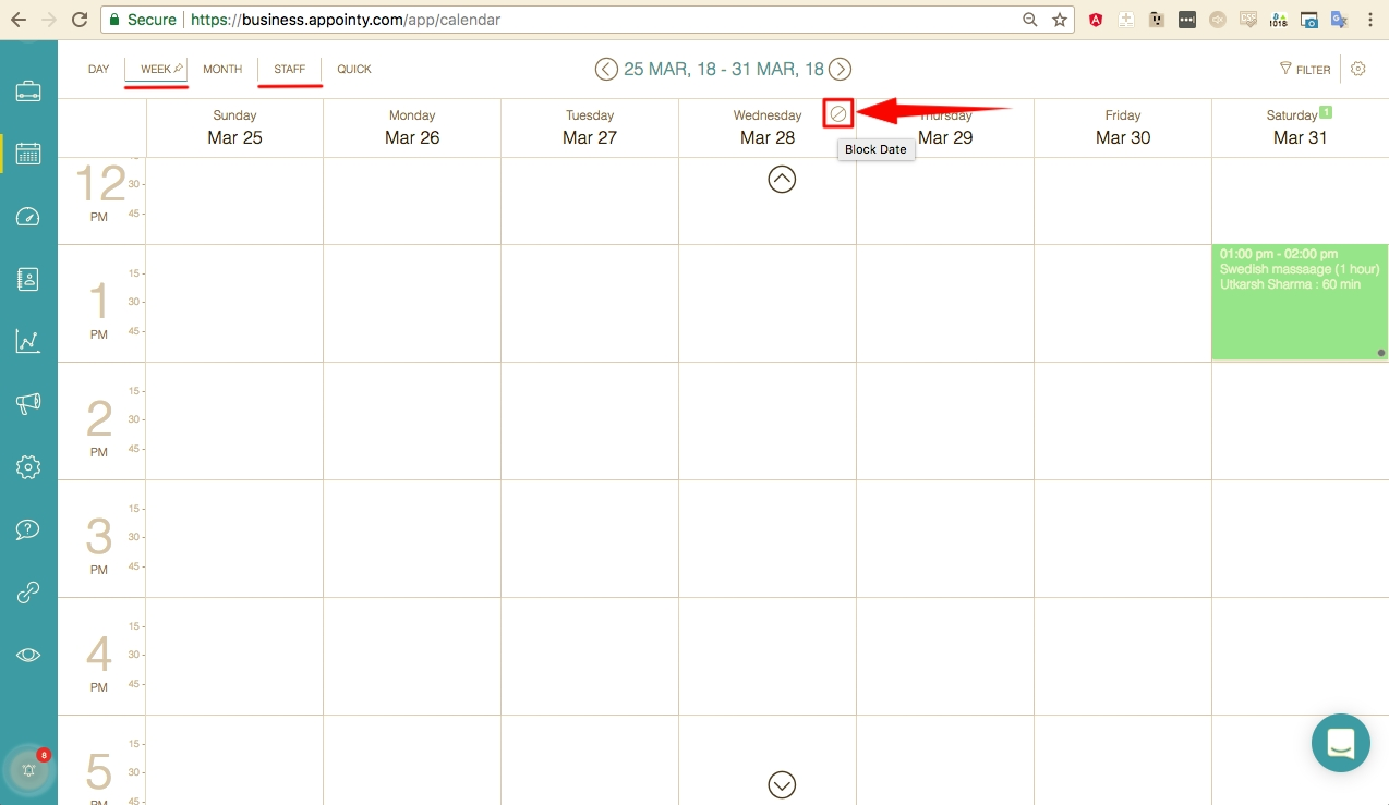 How To Block Out Days/hours In The Schedule? – Appointy