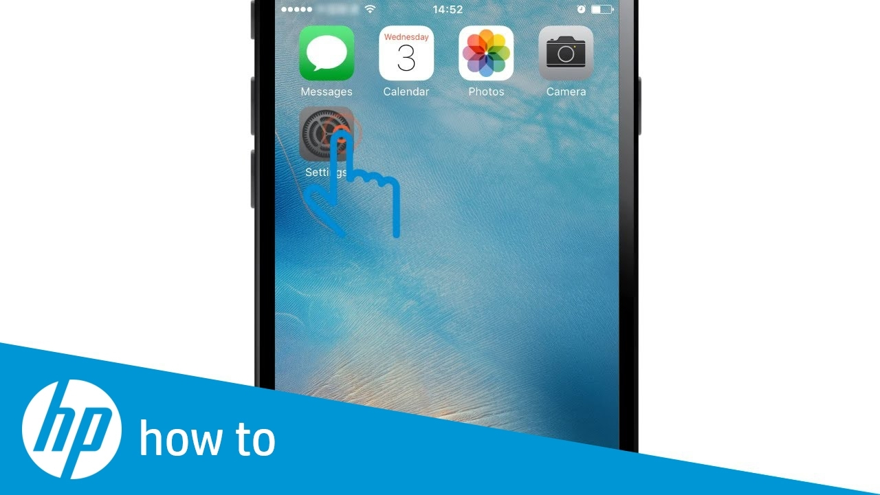 Hp Printers - Printing From An Iphone, Ipad, Or Ipod Touch | Hp
