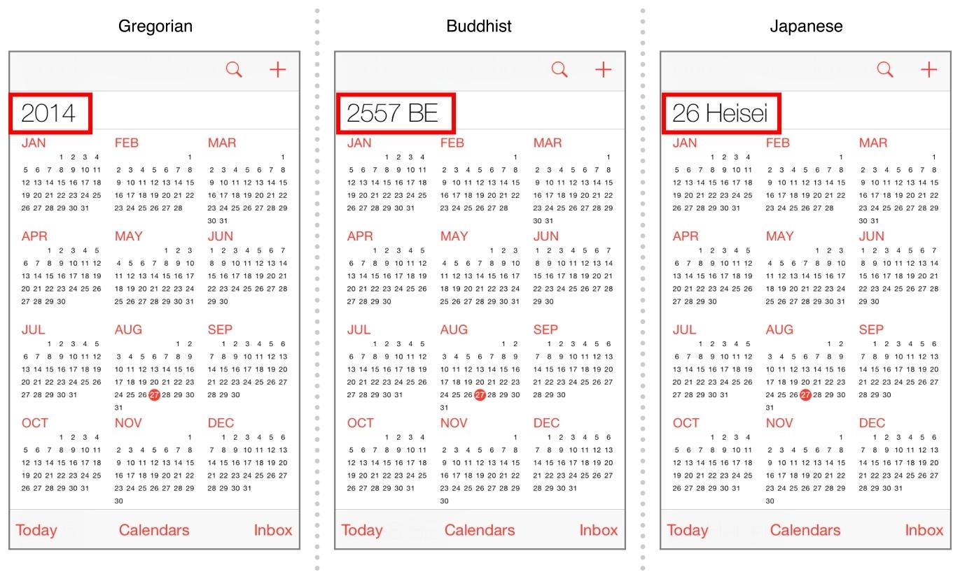 Iphone Ios 7 Calendar Week Number | Ten Free Printable Calendar 2019
