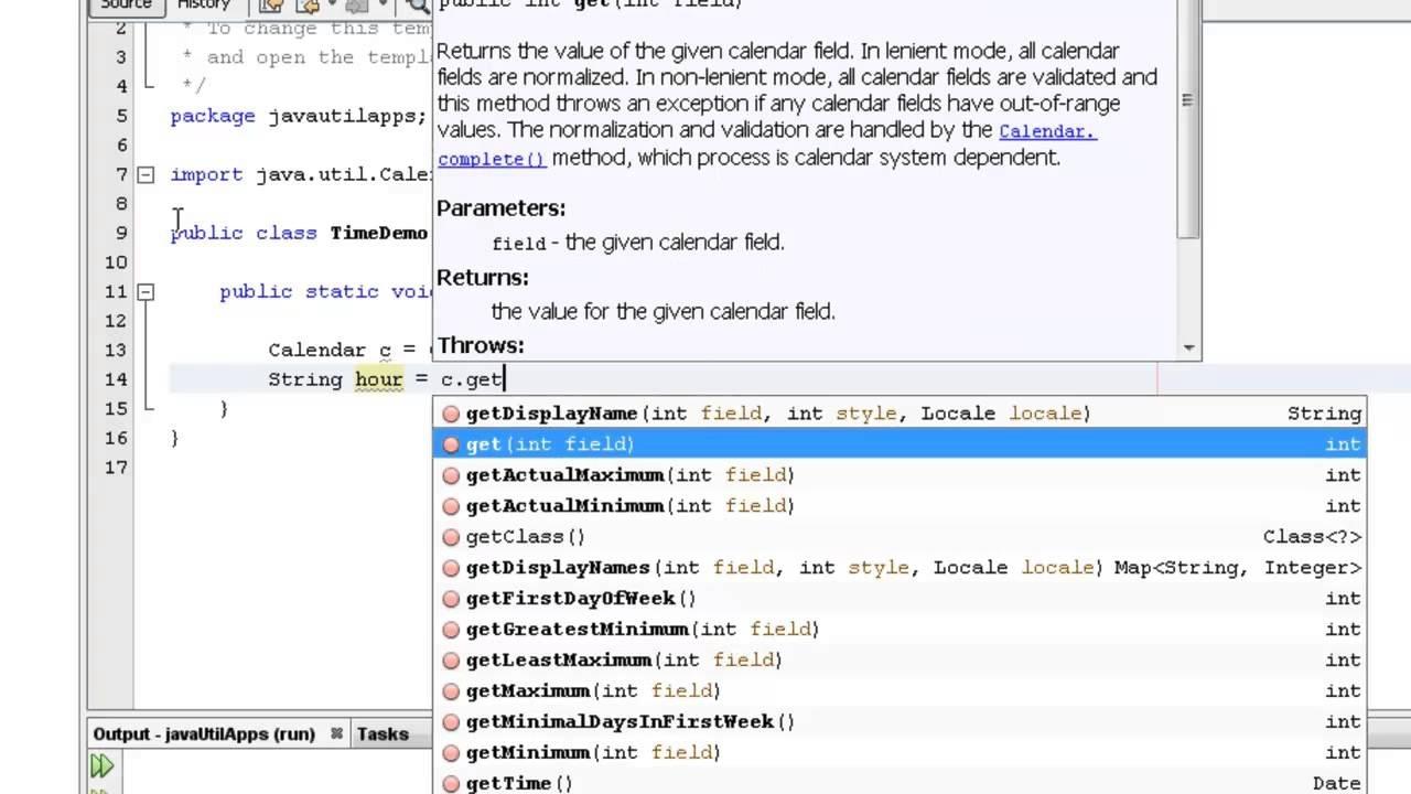 Java Programming - Java Program To Print System Time Using Calendar