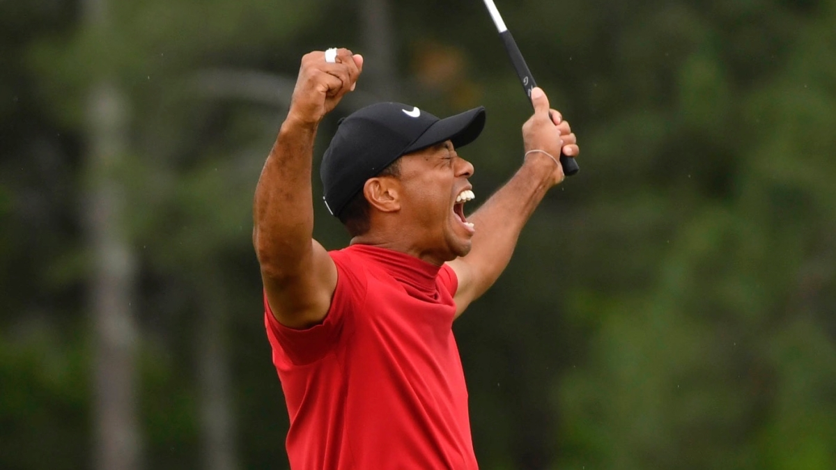 Man Who Won $1.19M On Masters Bet Puts $100K On Tiger Woods To Win A