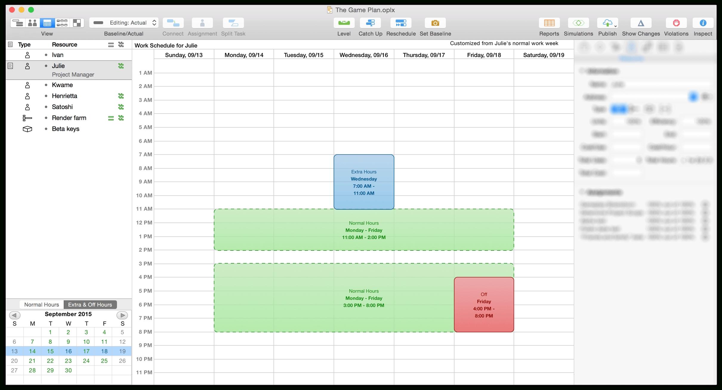 Omniplan 3 For Mac User Manual - The Omni Group