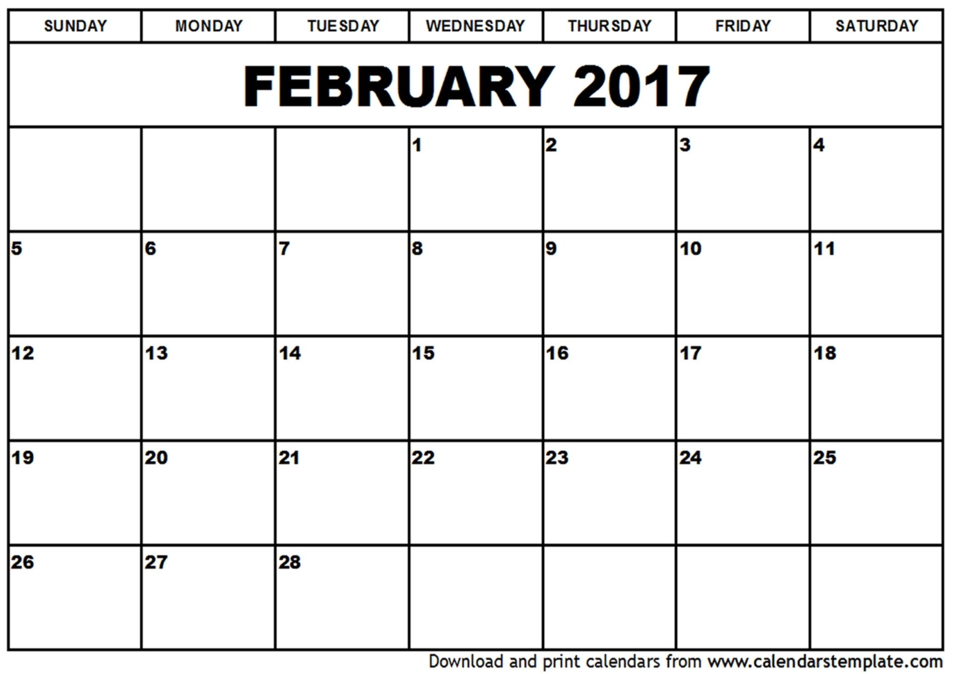Pdf-February-Calendar-Template -Printanle