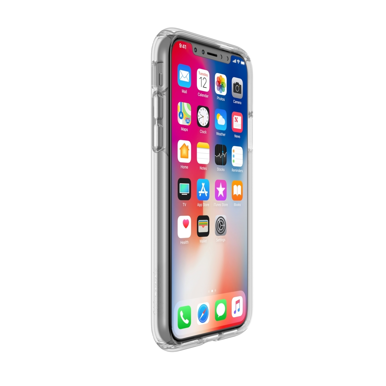 Presidio Clear + Print Crisis Text Line Edition Iphone X Cases