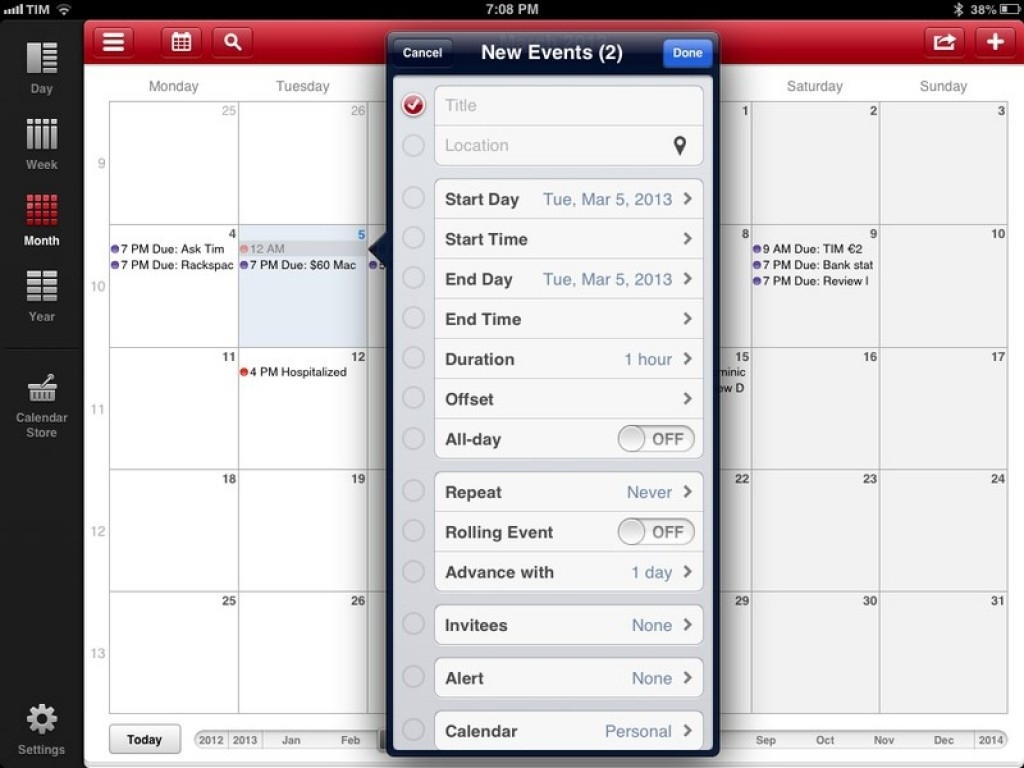 Printable Calendar App Print Calendar Ipad – Printable Calendar Design