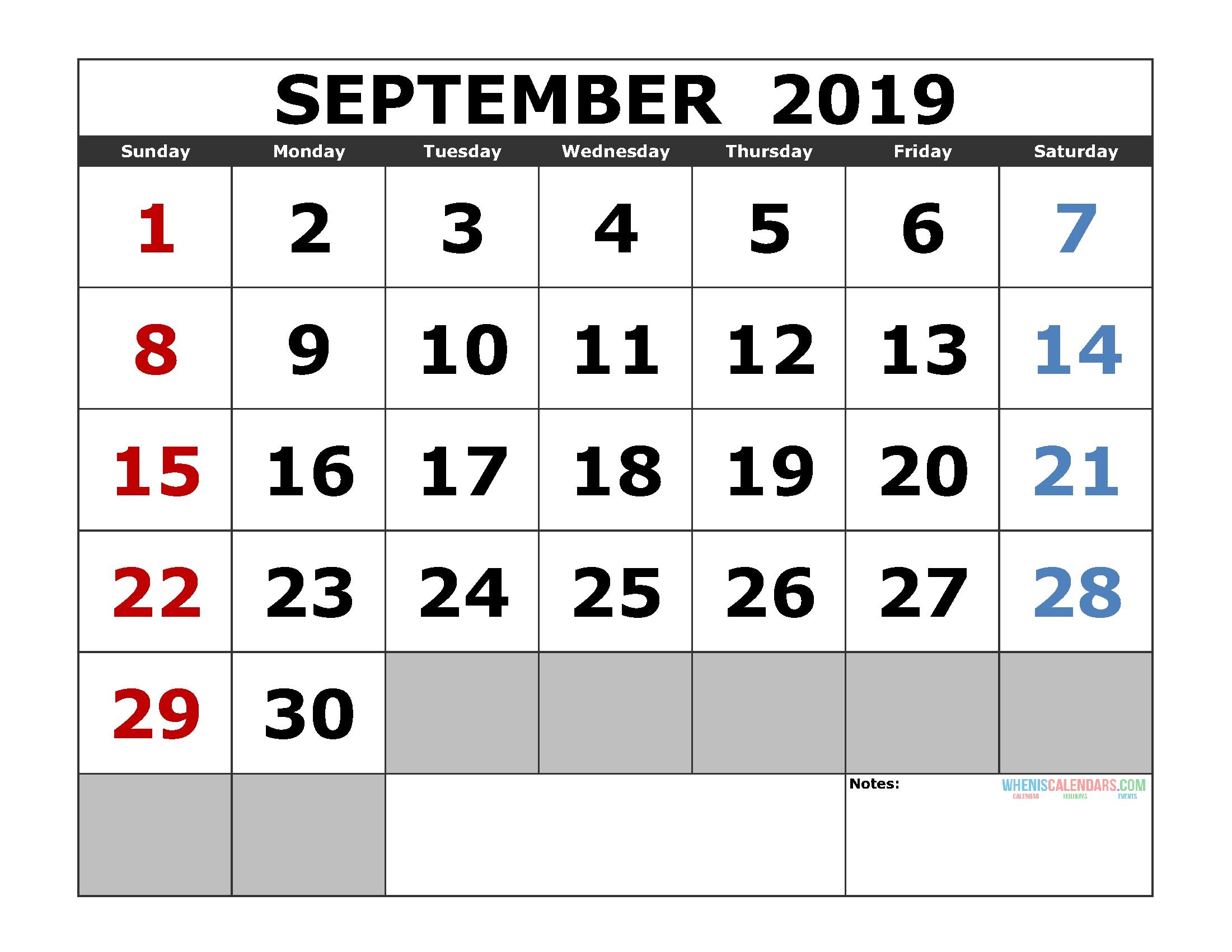 Printable Calendars | Page 2 Of 64 | Free Printable 2019 Calendar