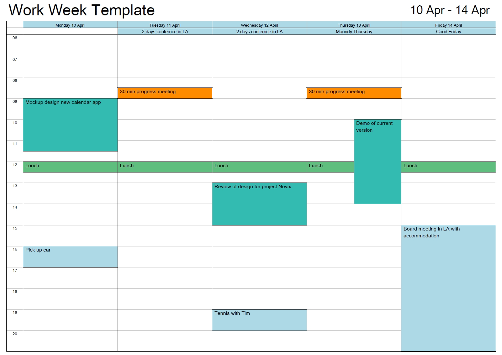 Schedule Template Outlook Printable Calendar In Print Ork Eek Free