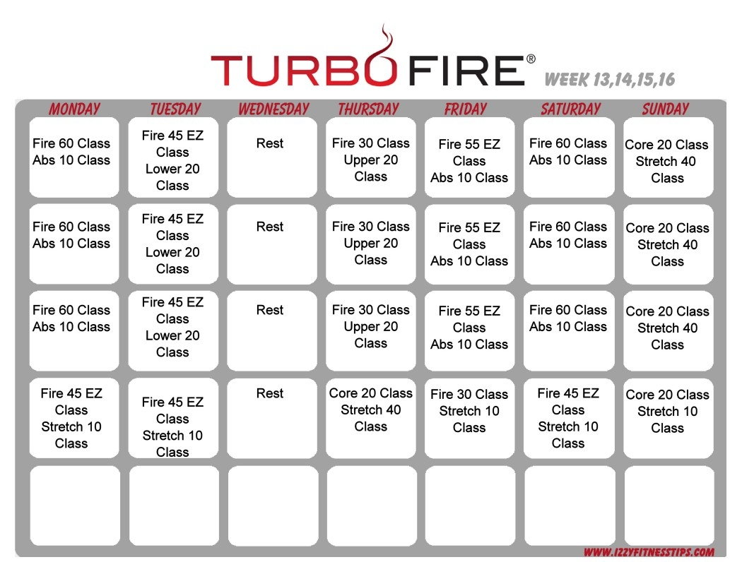 Turbo Fire Calendar | Settoplinux