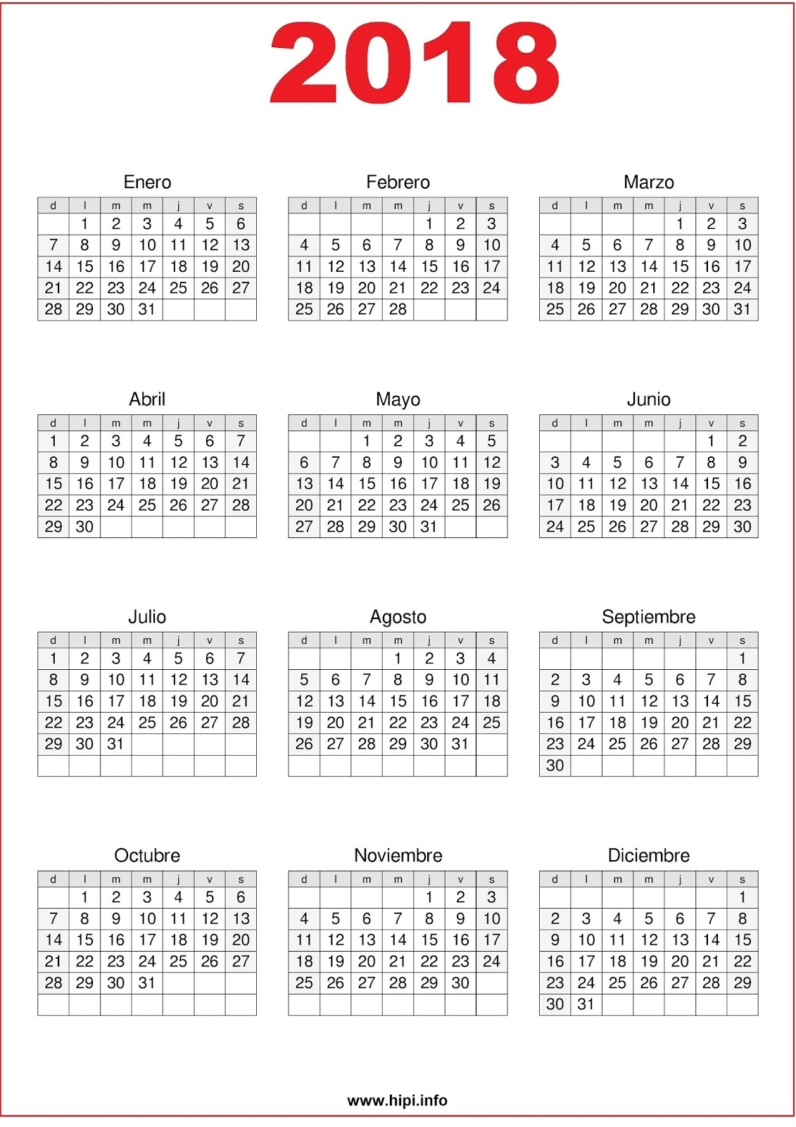 Twitter Headers / Facebook Covers / Wallpapers / Calendars: 2018