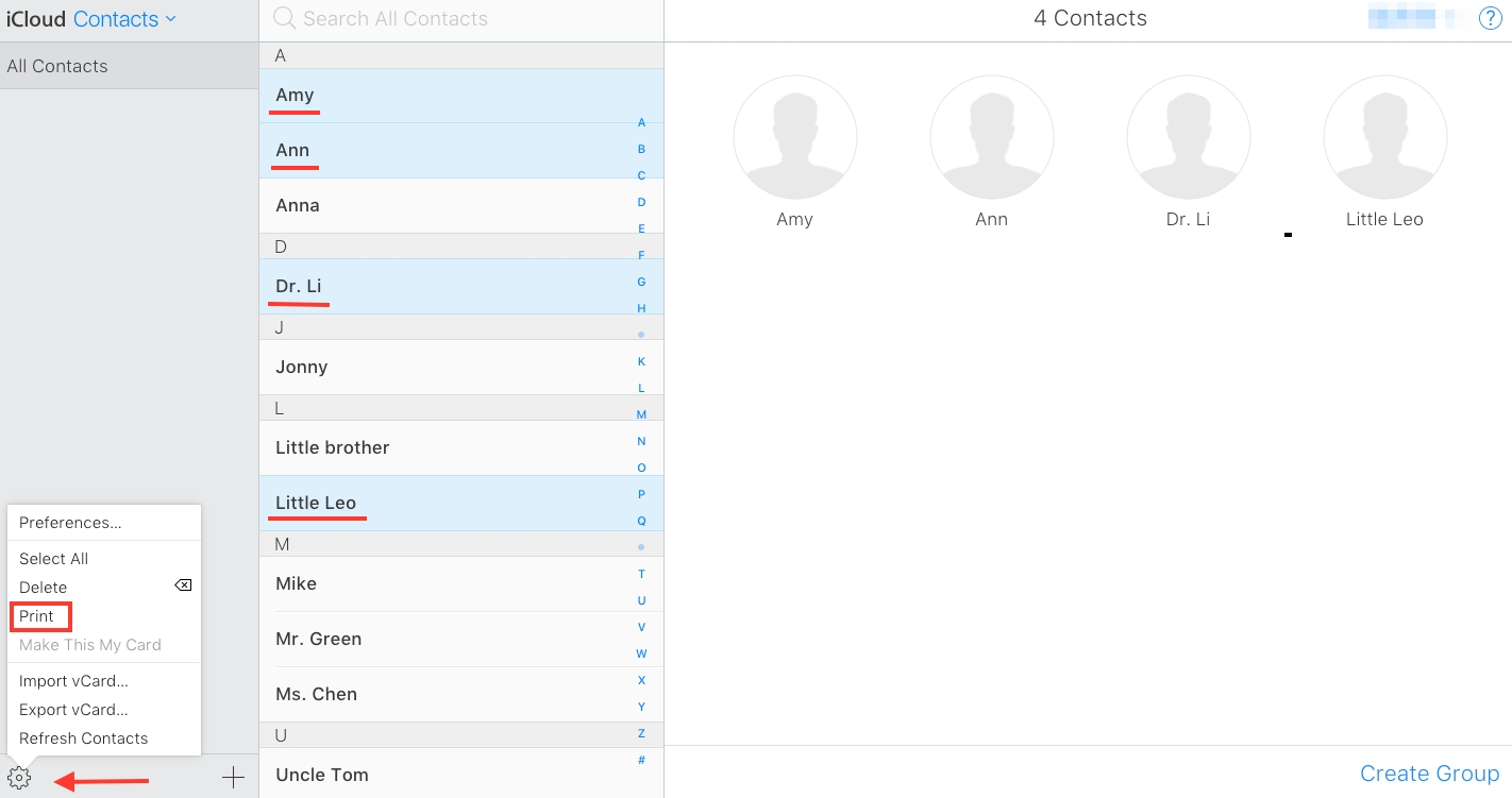 Two Methods To Print Contacts From Icloud - Imobie Inc.