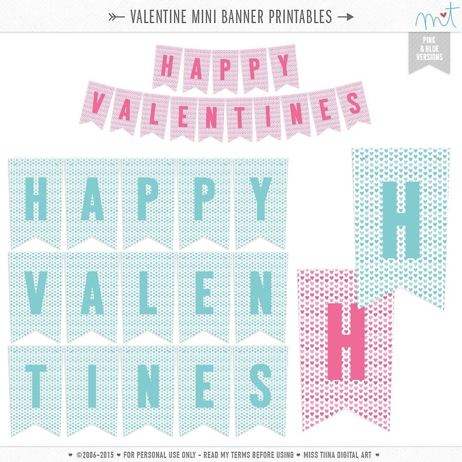 Valentine's Printables | Misstiina