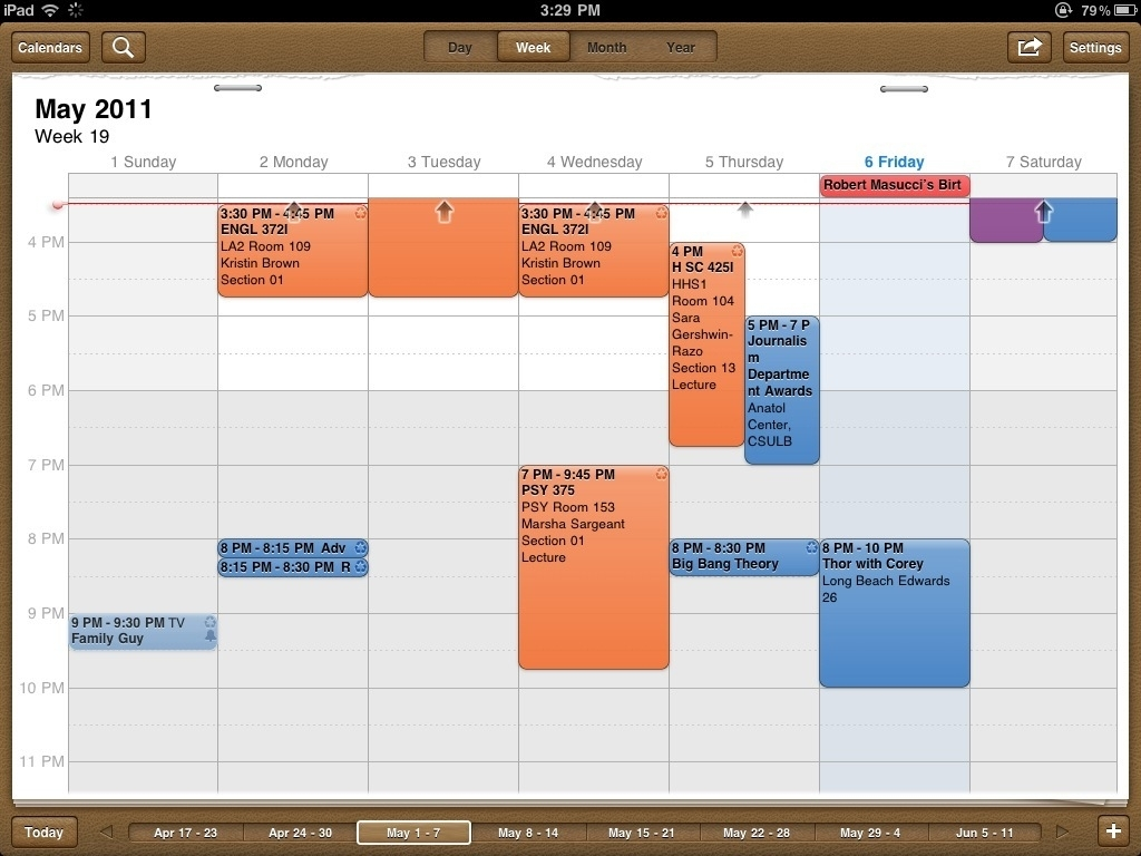 Week Calendar Hd - A Powerful Alternative Calendar For Your Ipad