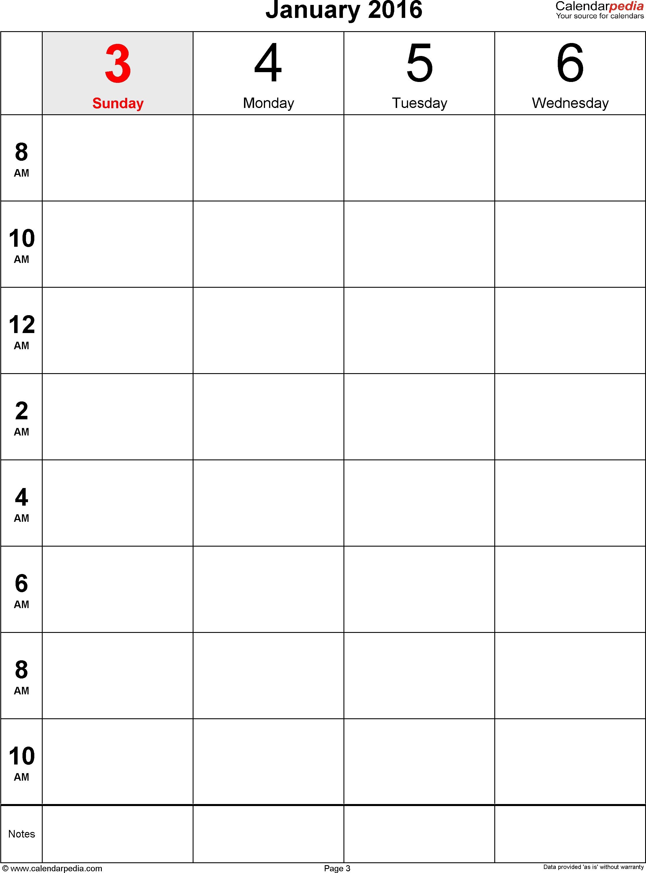 Weekly Calendar For Word Free Printable Templates K Pdf | Smorad