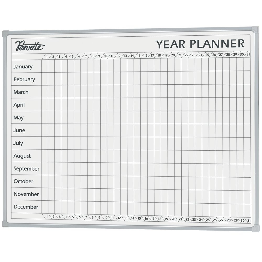 Yearly Calendar Whiteboard | Year Printable Calendar