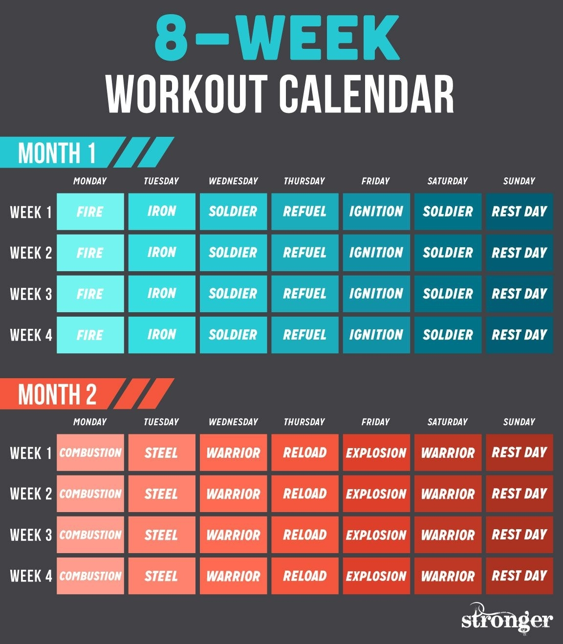10 Free Workouts To Get You Fitter And Stronger | I Wanna Be