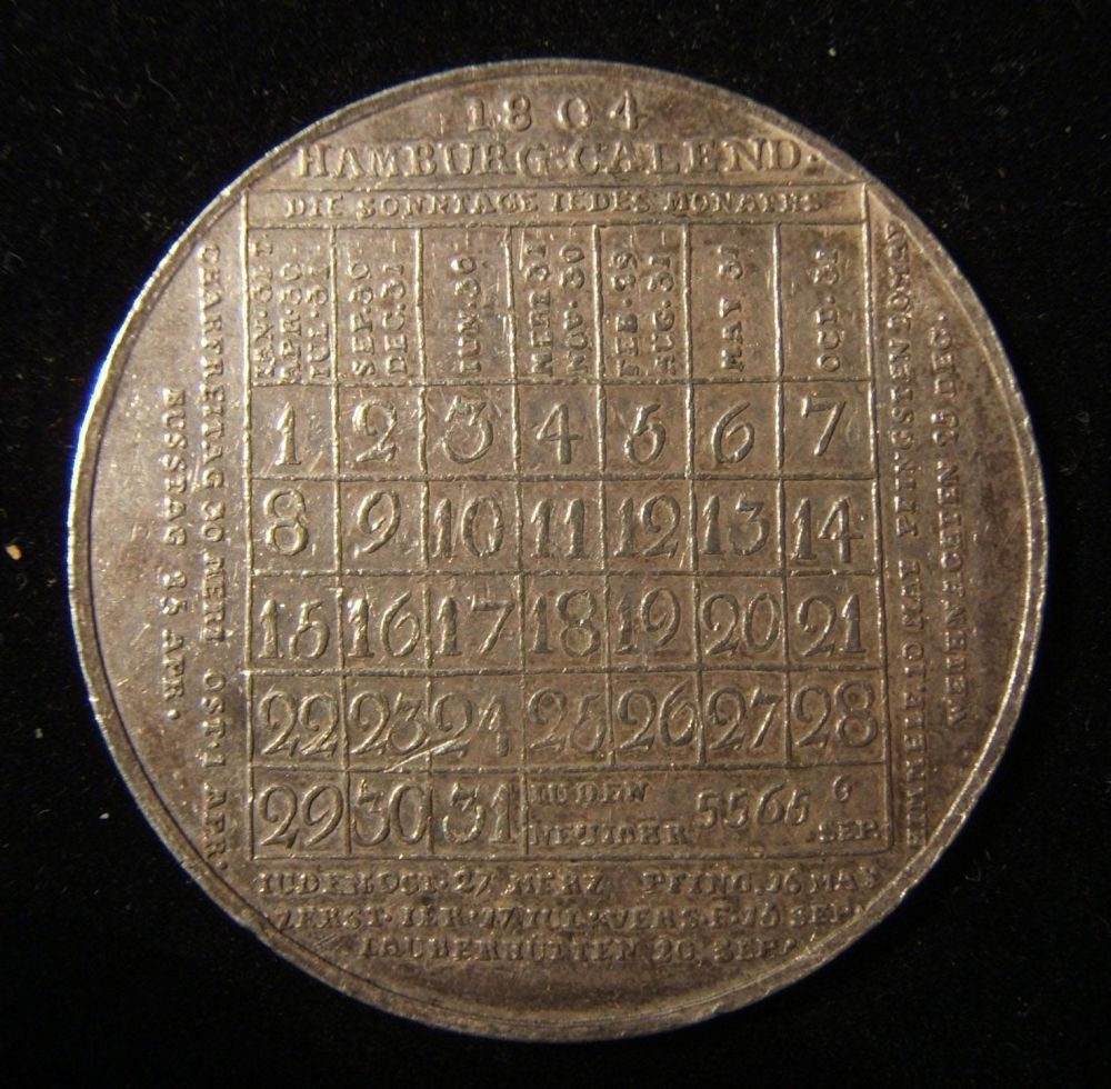 Bidspirit Auction | Germany > Hamburg: Jewish Calendar