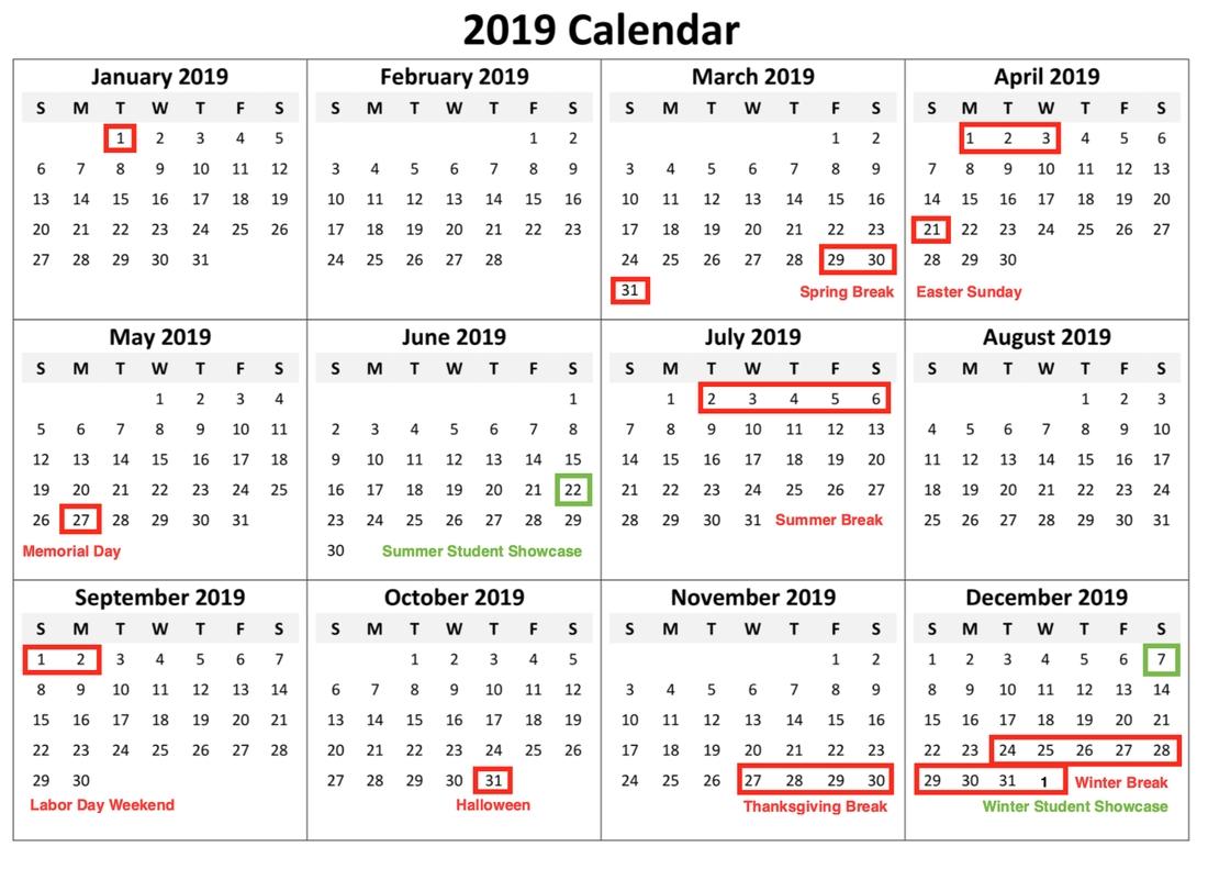 Calendar Forte Music School | Music Lessons, Piano, Guitar
