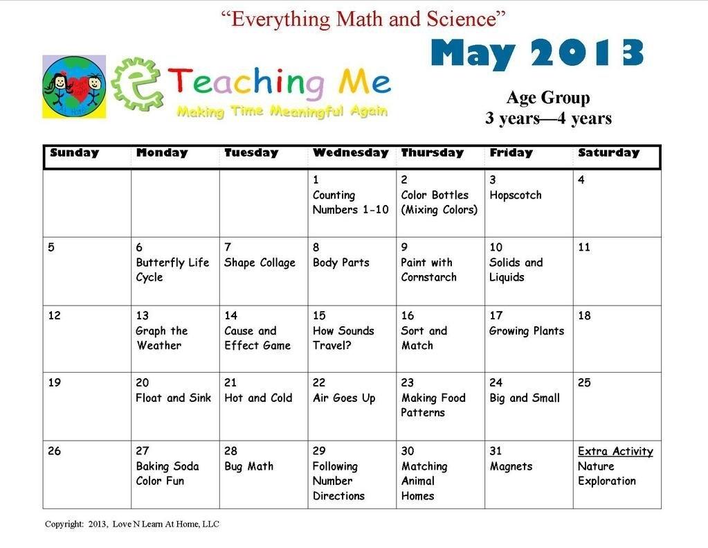 Eteachingme On | Preschool Calendar, Writing Lesson Plans