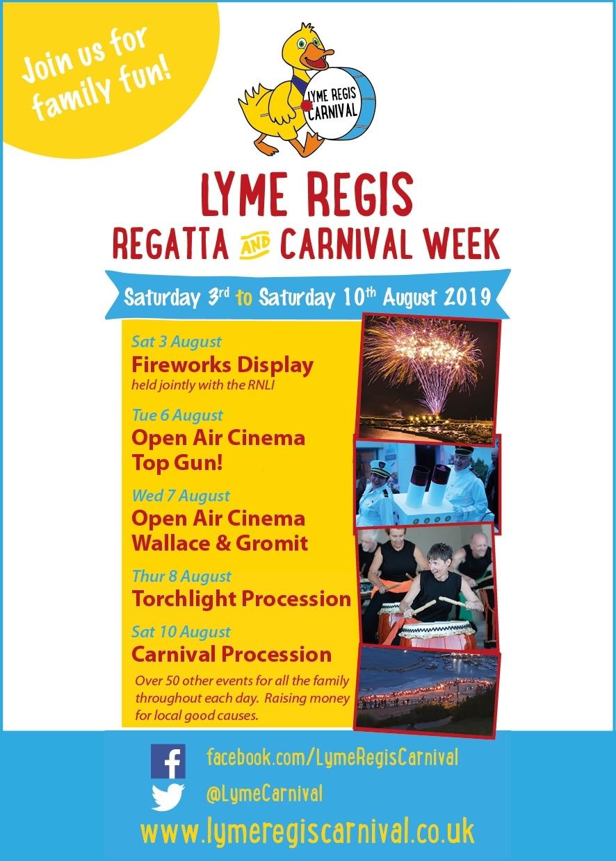 Highlights Of Carnival Week 2019 – Lyme Regis Carnival