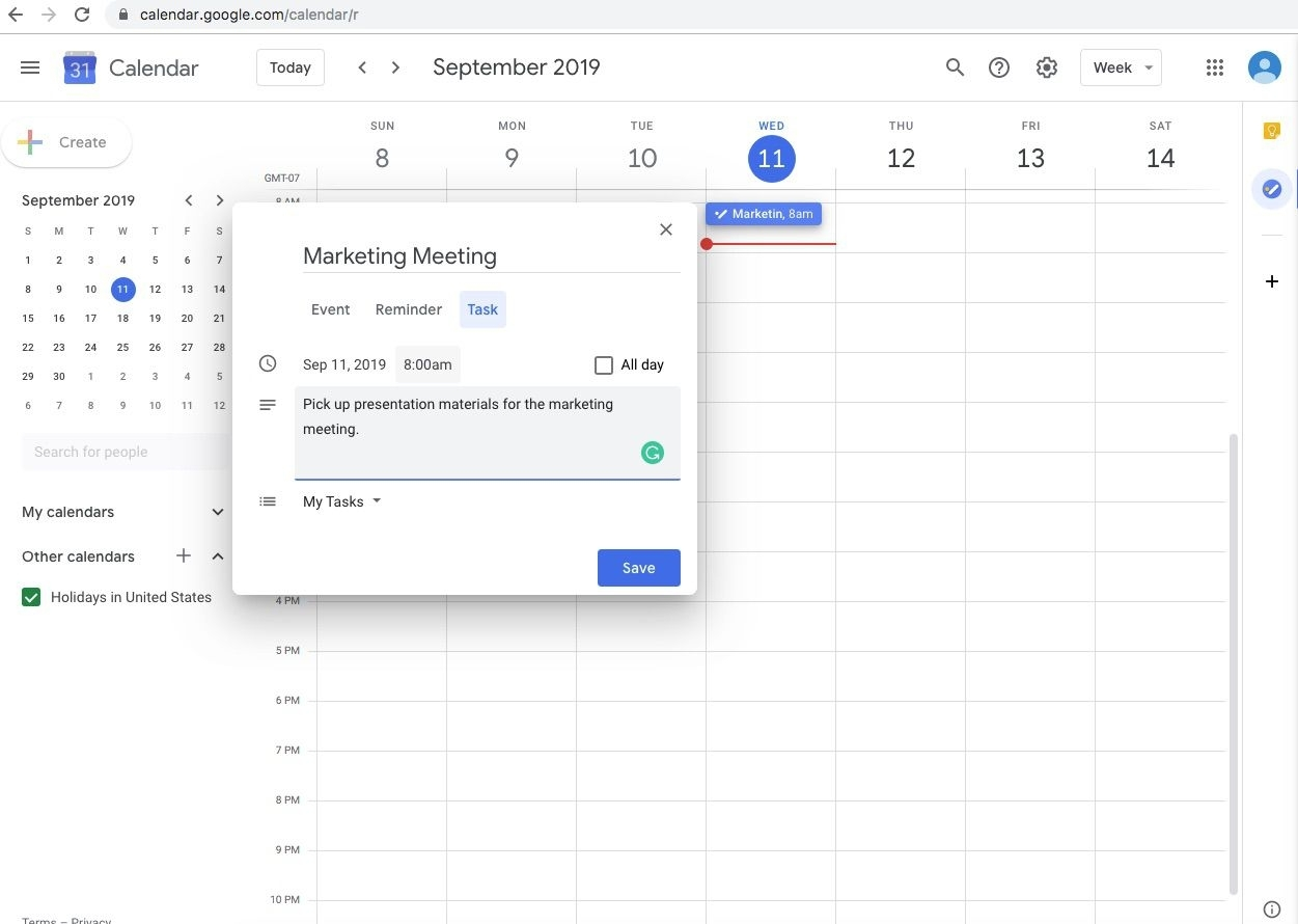 How To Add Tasks To Google Calendar